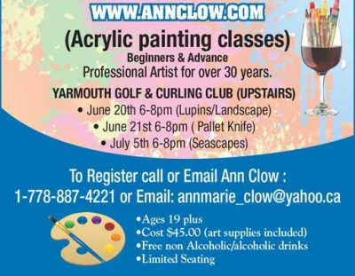 Painting Classes with Ann Clow