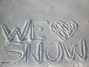 We (Heart) Snow!