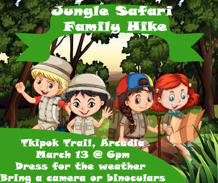 Jungle Safari Hike Poster