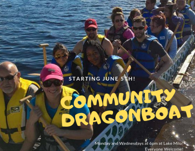 Get Moving with Dragon Boat!