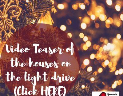 Christmas Light Drive and Teaser Video!