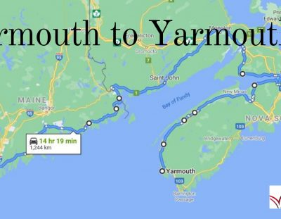 A New Walking Challenge: Yarmouth NS, to Yarmouth ME