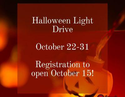 Halloween Light Drive