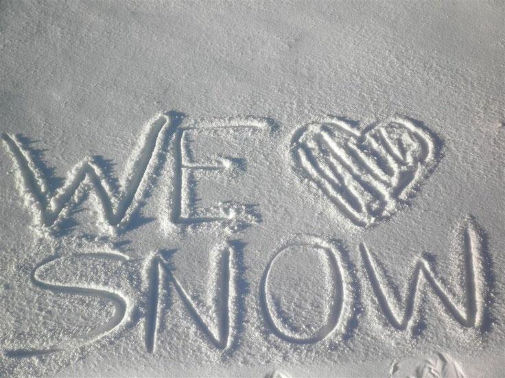 We (Heart) Snow!