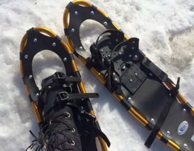 Winter is Coming! Try our Cross Country Skis or Snowshoes!