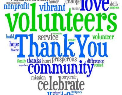 Nominate a Community Volunteer Today!